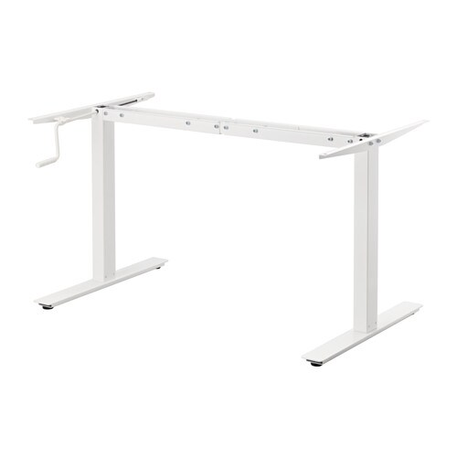 SKARSTA Underframe sitstand f table top White 120160 cm  : skarsta underframe sit252fstand f table top white0341454pe529542s4 from ikea.com size 500 x 500 jpeg 10kB