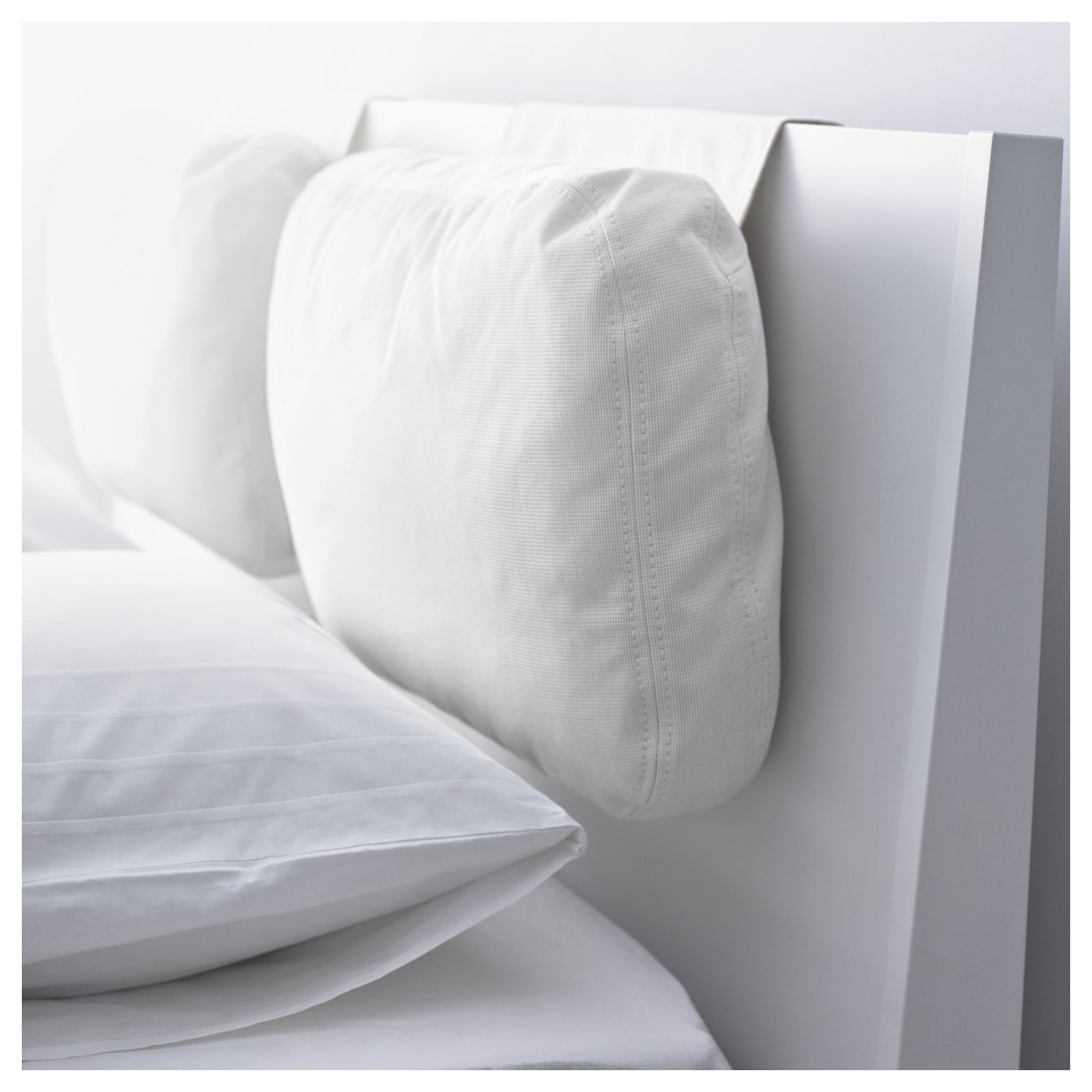 IKEA SKOGN cushion Adds comfort to your headboard. Great if you sit up and read or watch TV.