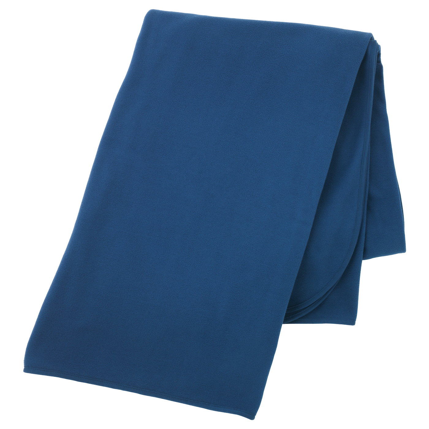 IKEA SKOGSKLOCKA throw The fleece throw feels soft against your skin and can be machine washed.