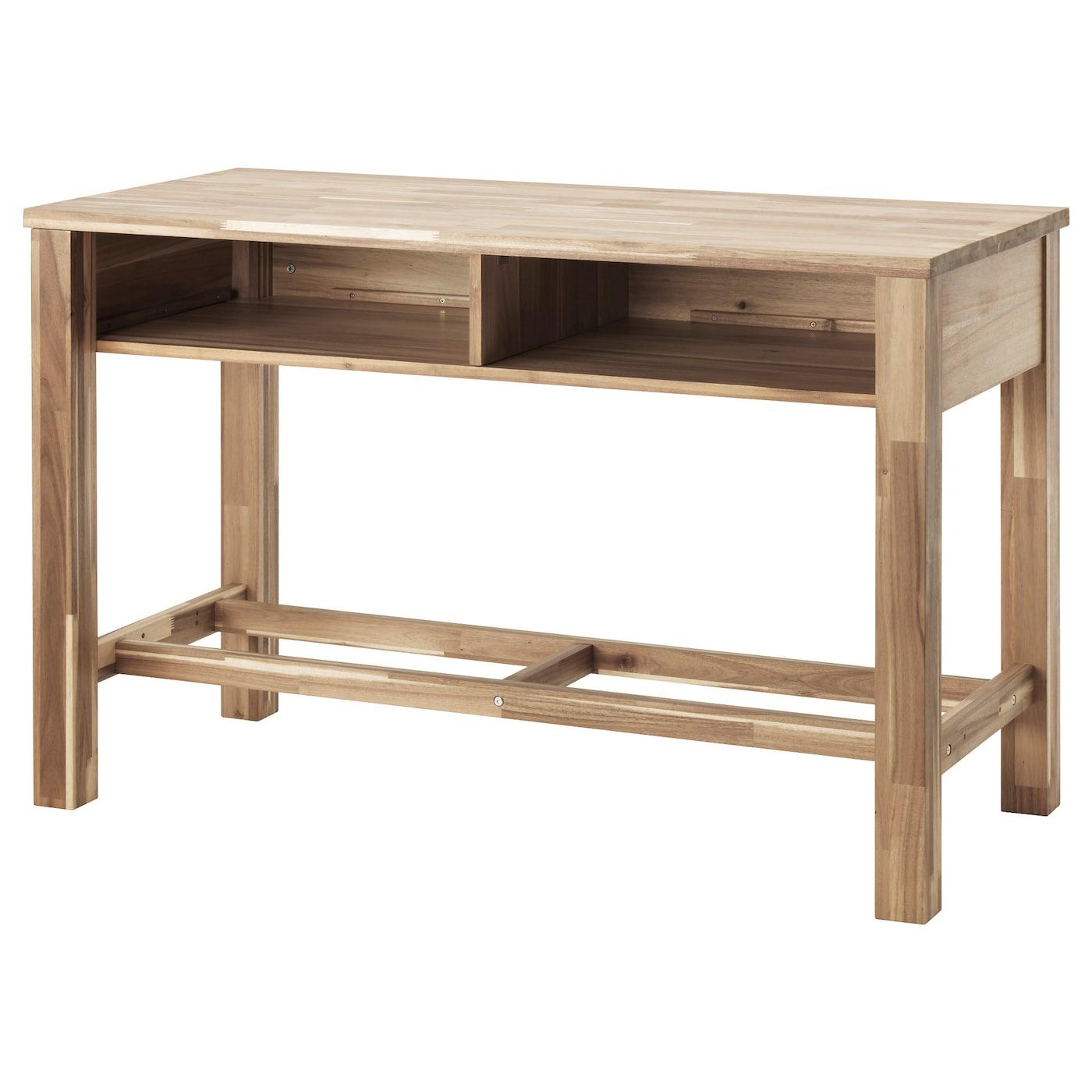 SKOGSTA Bar table Acacia 140x64 cm IKEA