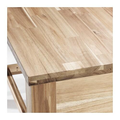 skogsta bar table acacia 140x64 cm ikea. Black Bedroom Furniture Sets. Home Design Ideas
