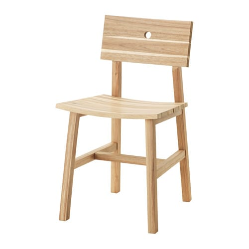 Skogsta chair acacia ikea - Ikea tables et chaises ...