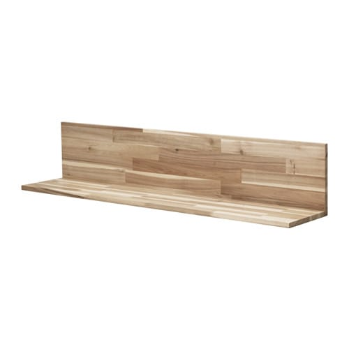 skogsta wall shelf acacia 120 x 25 cm ikea. Black Bedroom Furniture Sets. Home Design Ideas