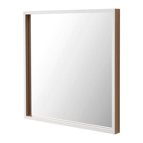 IKEA SKOGSVÅG mirror Provided with safety film - reduces damage if glass is broken.