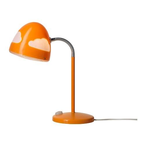 Skojig Work Lamp Orange Ikea