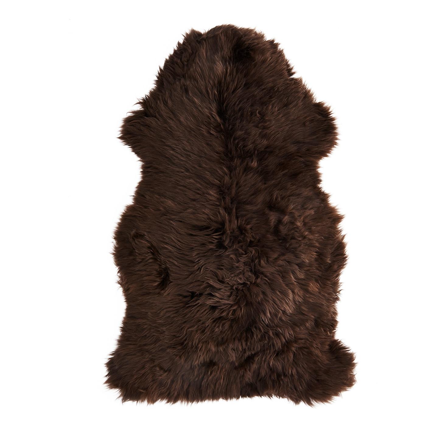 skold sheepskin dark brown 90 cm ikea. Black Bedroom Furniture Sets. Home Design Ideas