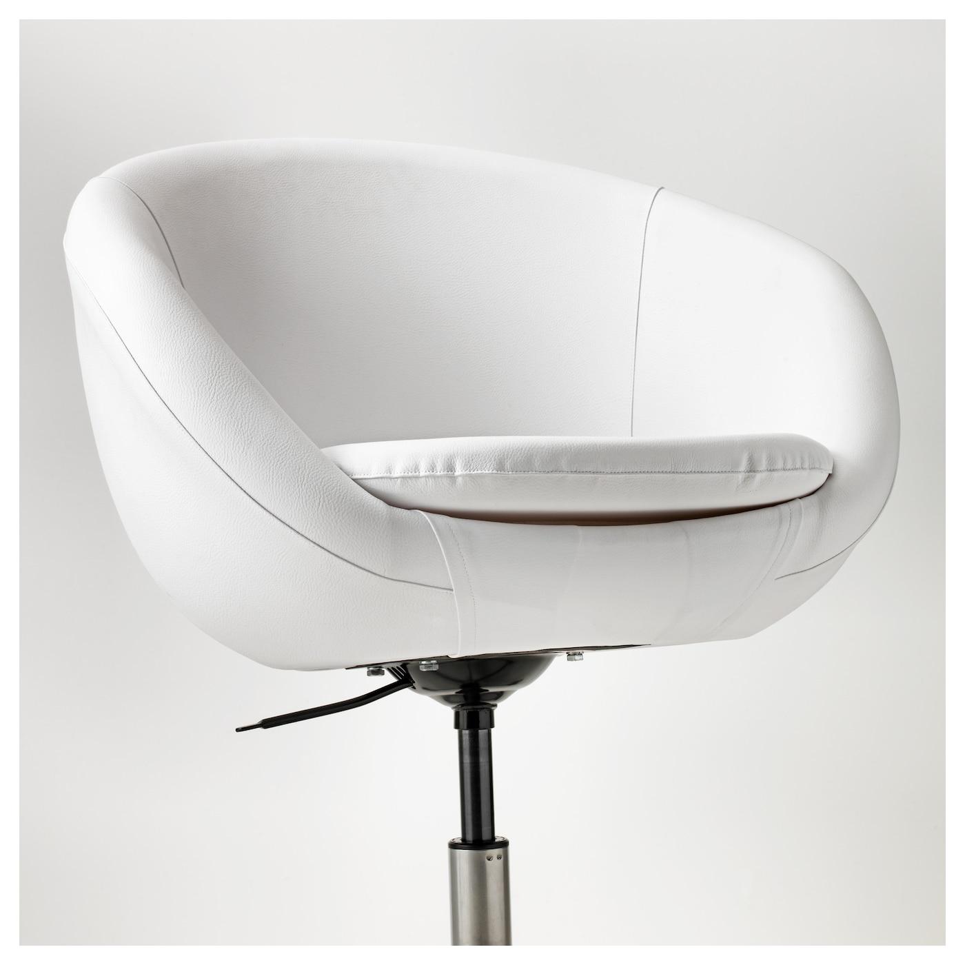 skruvsta swivel chair idhult white ikea. Black Bedroom Furniture Sets. Home Design Ideas