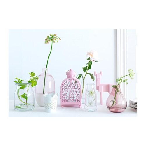 Skurar candle holder white 11 cm ikea - Ikea fleurs artificielles ...
