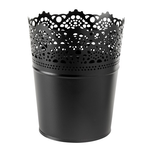 IKEA SKURAR plant pot Decorate your home with plants combined with a plant pot to suit your style.