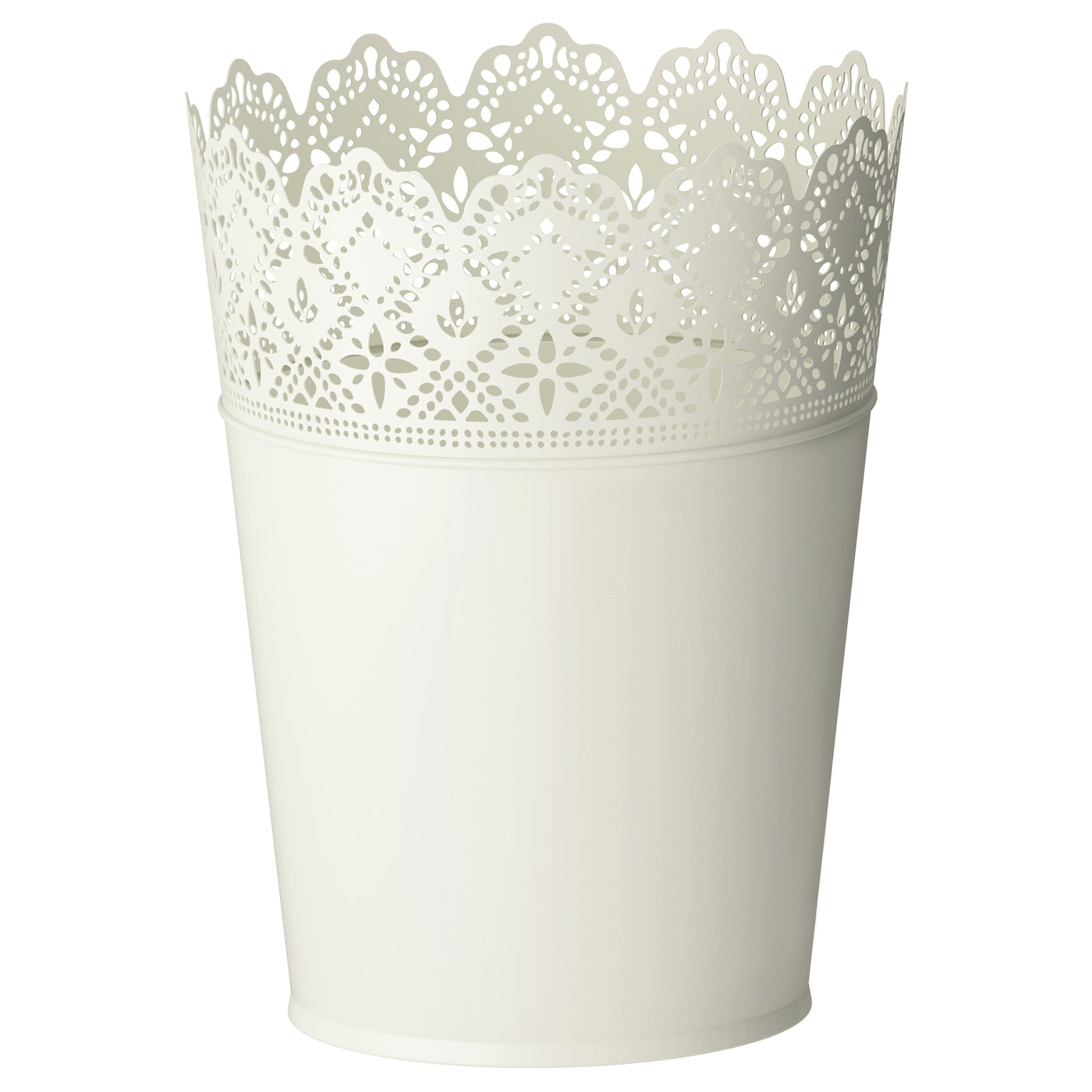 skurar plant pot in outdoor off white 17 cm ikea. Black Bedroom Furniture Sets. Home Design Ideas