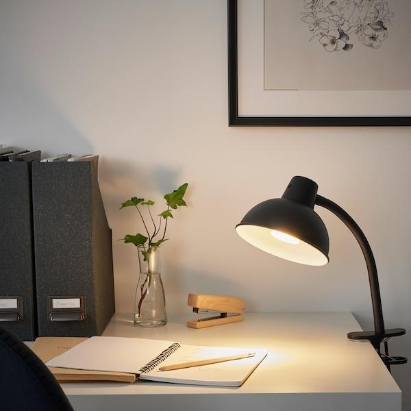SKURUP Clamp spotlight, black
