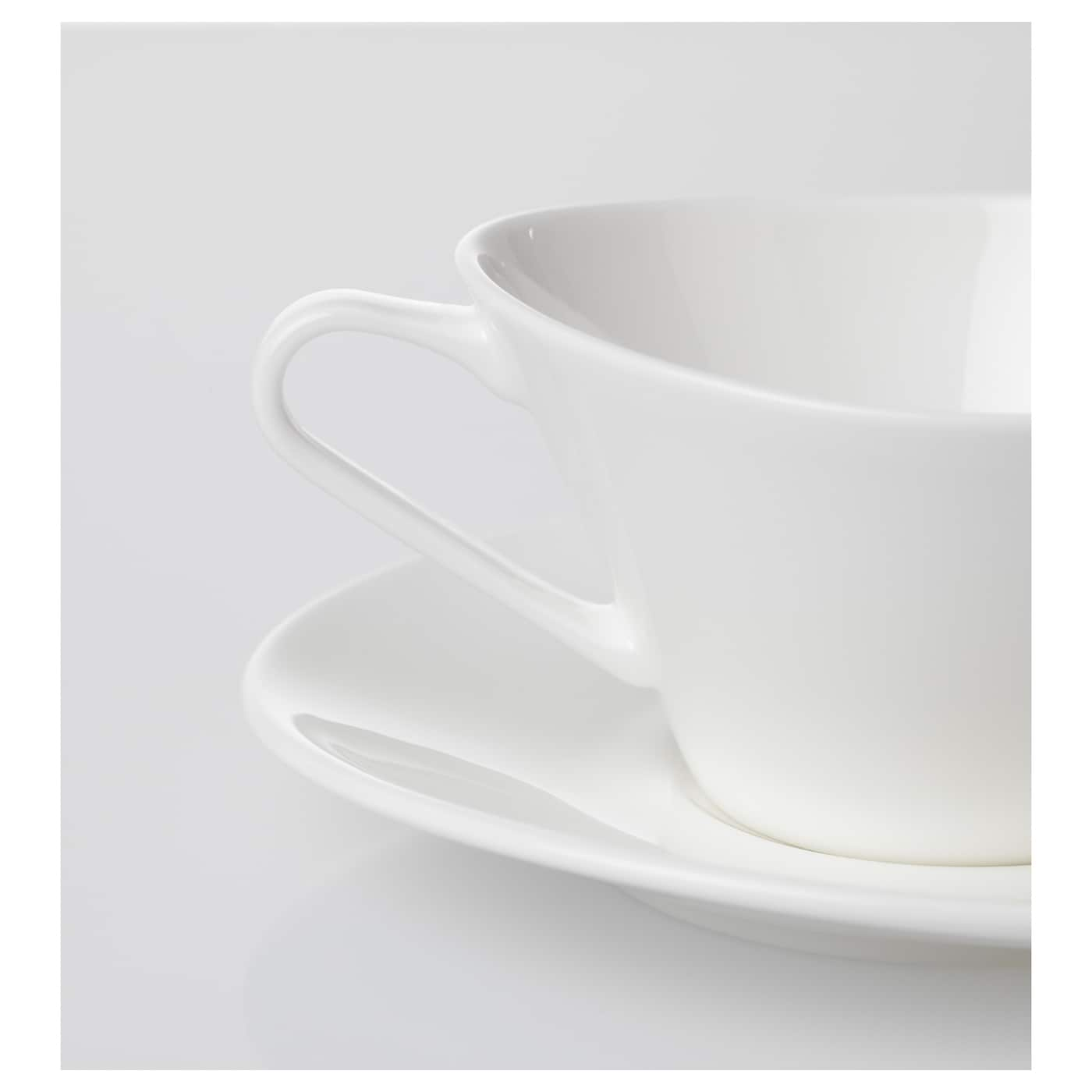 IKEA SKYN cup with saucer