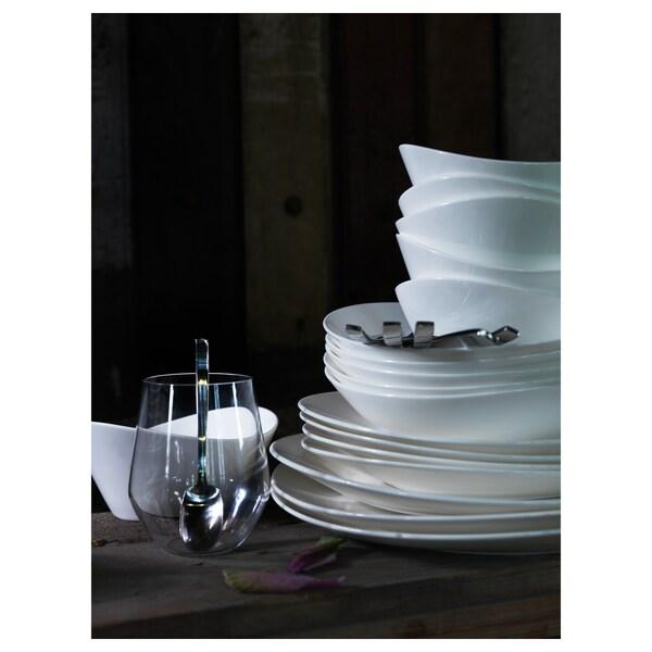 SKYN Deep plate, white, 24 cm