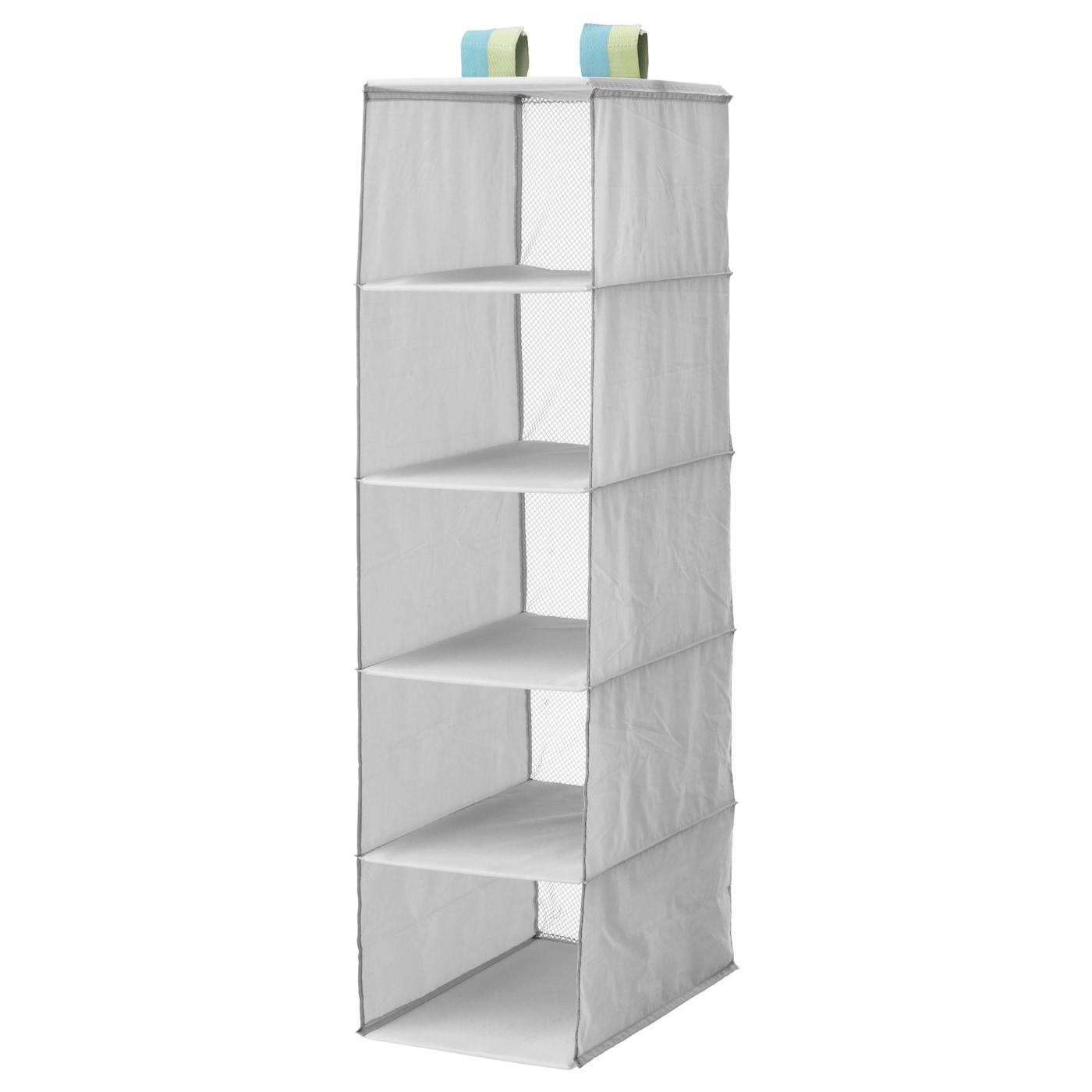 IKEA SLÄKTING storage with 5 compartments Can be folded to save space when not in use.