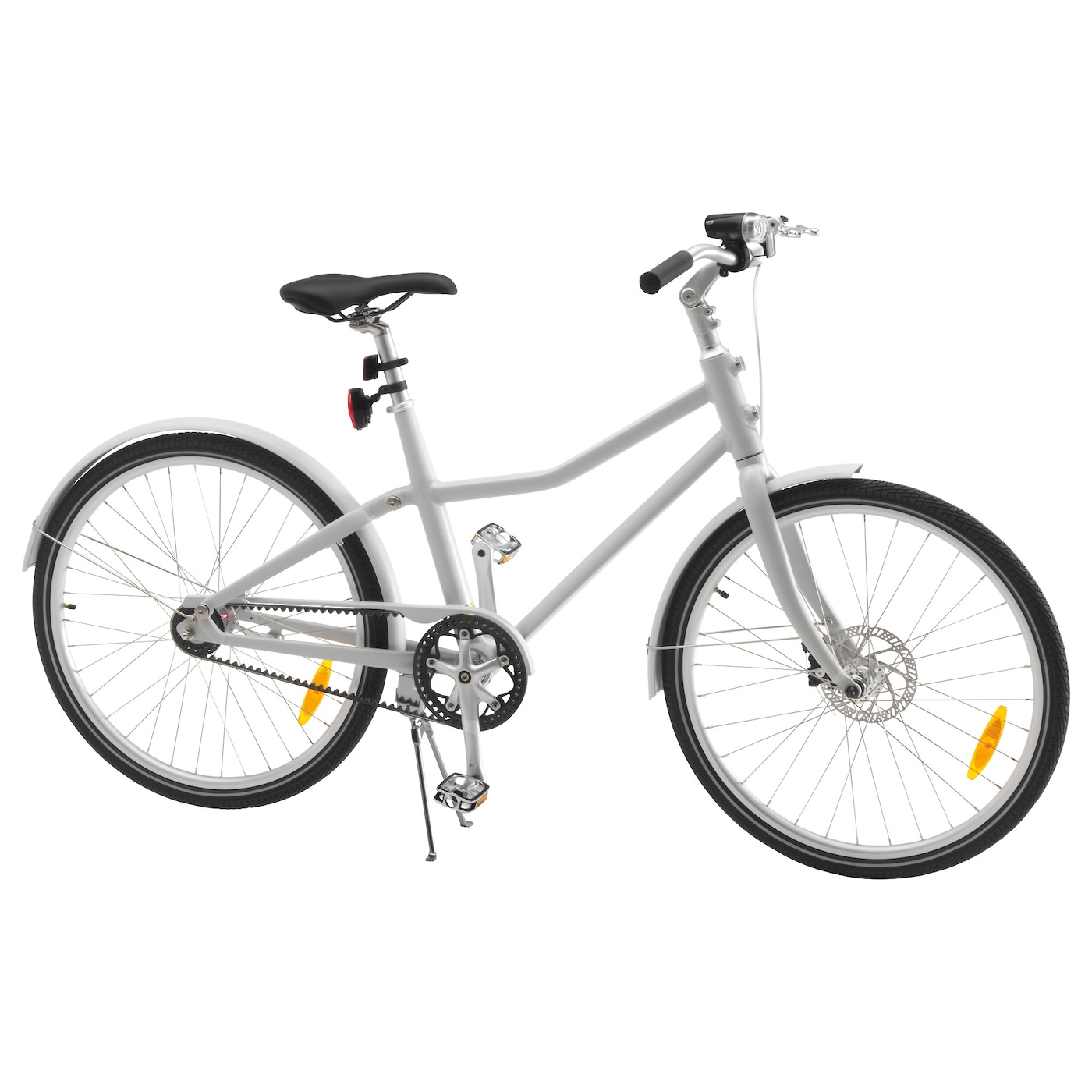IKEA SLADDA bicycle The front disc brake and rear coaster brake gives efficient braking.