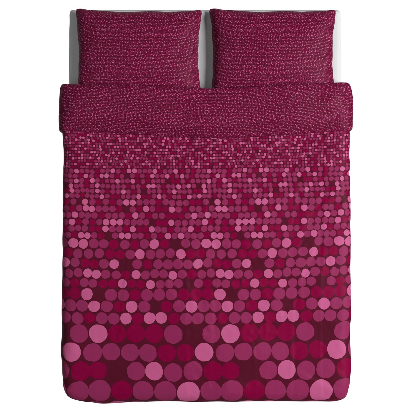sm rboll quilt cover and 2 pillowcases dark pink 200x200. Black Bedroom Furniture Sets. Home Design Ideas