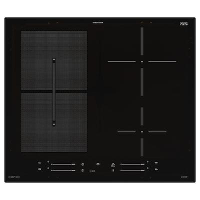 SMAKLIG Induction hob, IKEA 500 black, 59 cm