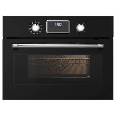 SMAKSAK Microwave combi with forced air, black