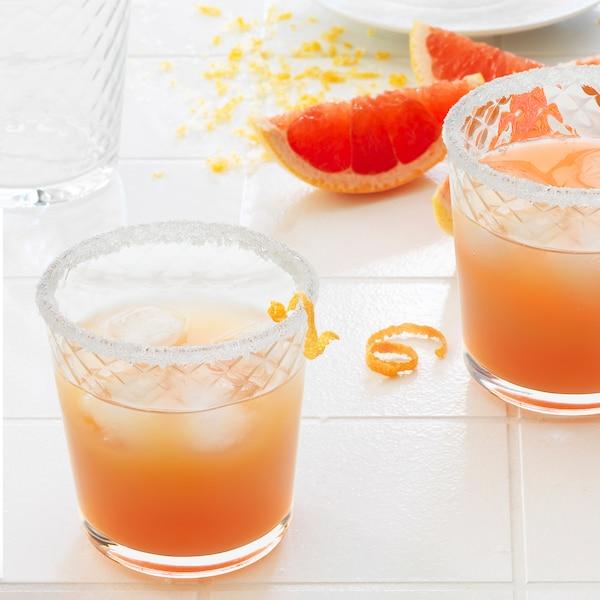 SMÅRISKA Whiskey glass, clear glass, 25 cl
