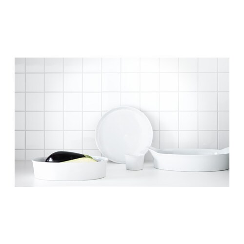 Smarta pie dish white 29 cm ikea - Dish chair ikea ...