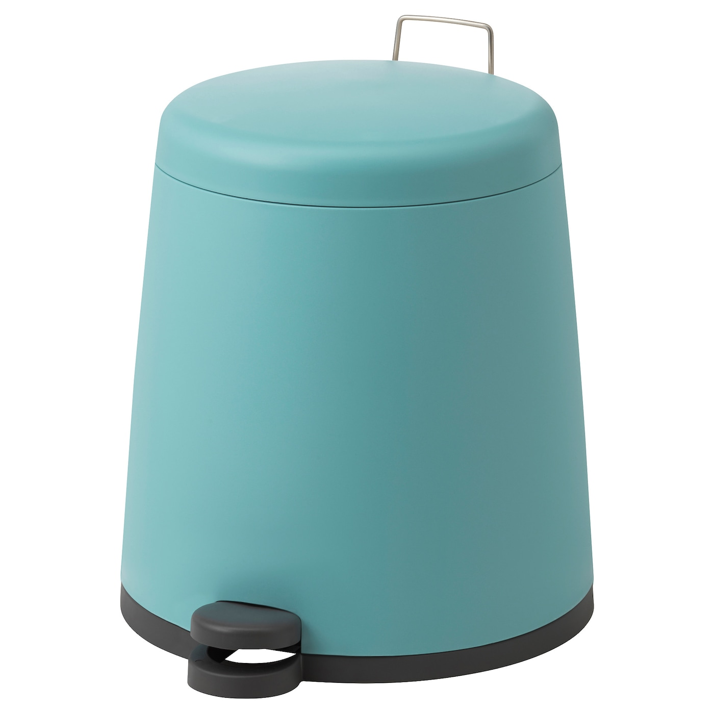 IKEA SNÄPP pedal bin The bin is easy to move since it has a handle on the back.