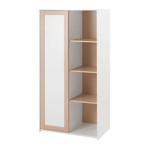 Sniglar Wardrobe Beech White 81 X 50 X 163 Cm Ikea