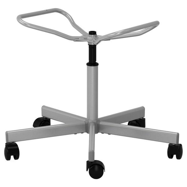 SNILLE chair frame, swivel silver-colour 67 cm 67 cm 71 cm 83 cm 46 cm 39 cm 39 cm 51 cm
