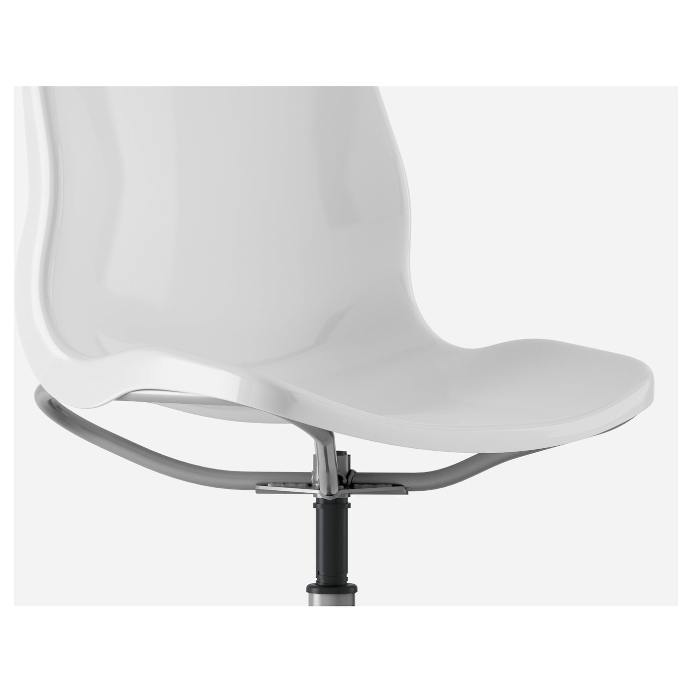 IKEA SNILLE swivel chair You sit comfortably since the chair is adjustable in height.