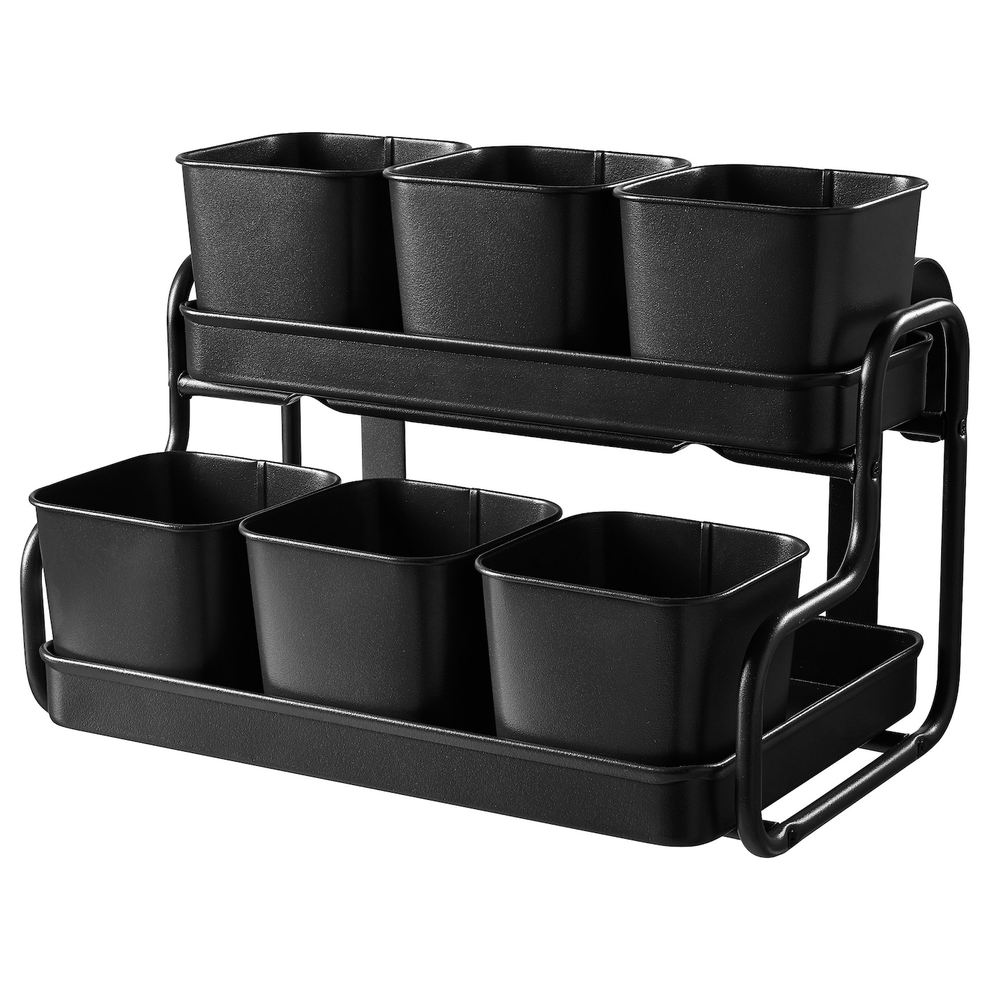 IKEA SOCKER plant pot with holder
