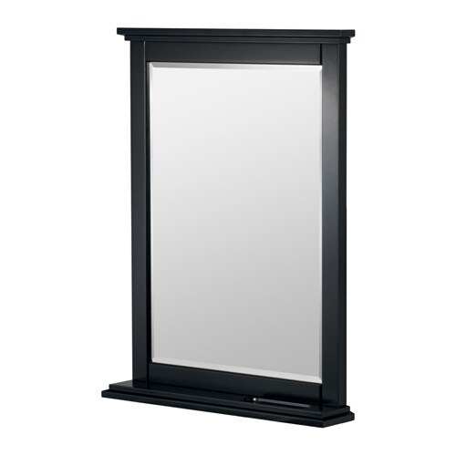 IKEA SOKNEDAL mirror Provided with safety film - reduces damage if glass is broken.