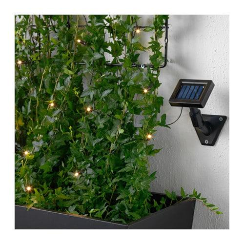 solarvet led lighting chain with 12 lights outdoor solar. Black Bedroom Furniture Sets. Home Design Ideas