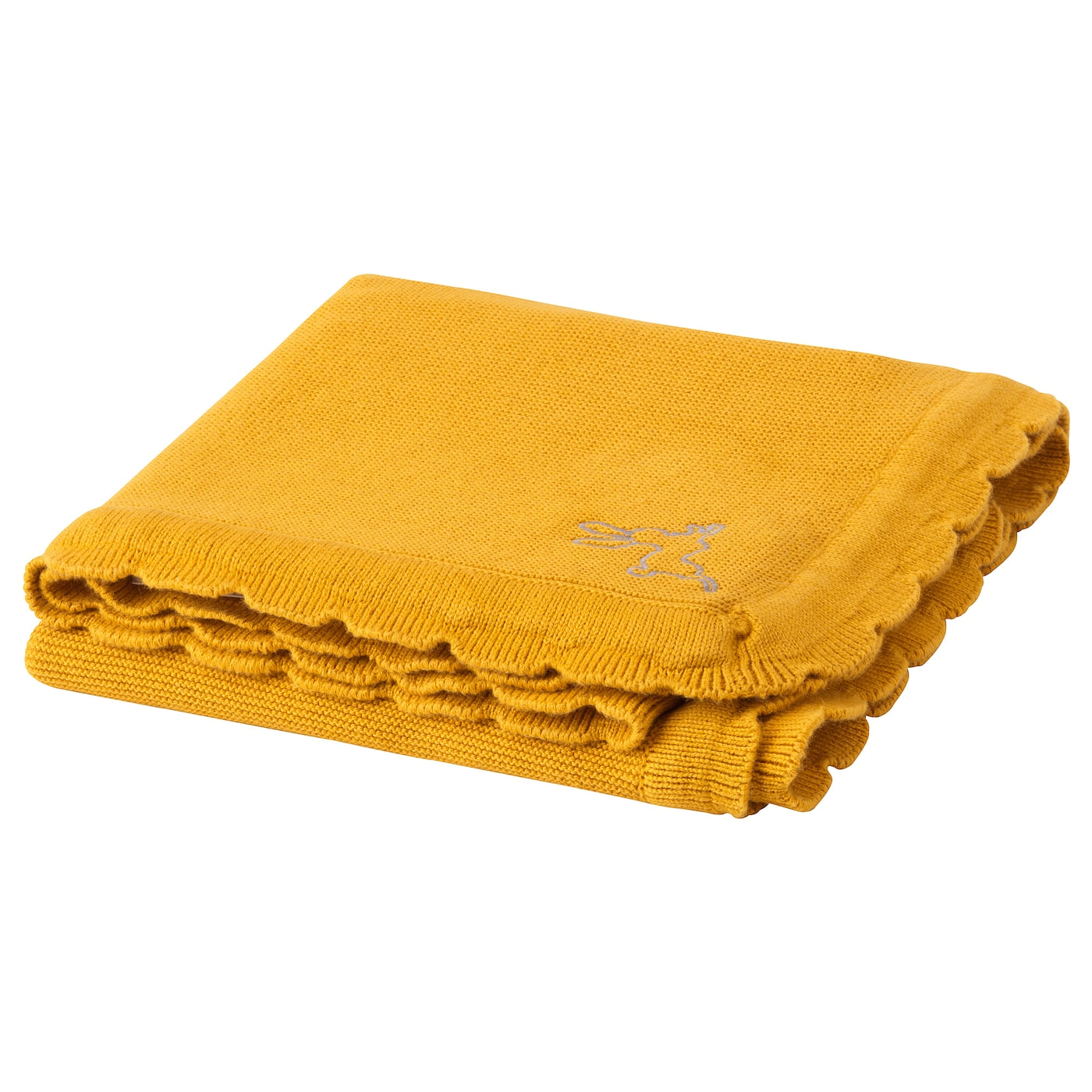 IKEA SOLGUL blanket Easy to clean; machine wash, warm (40°C).