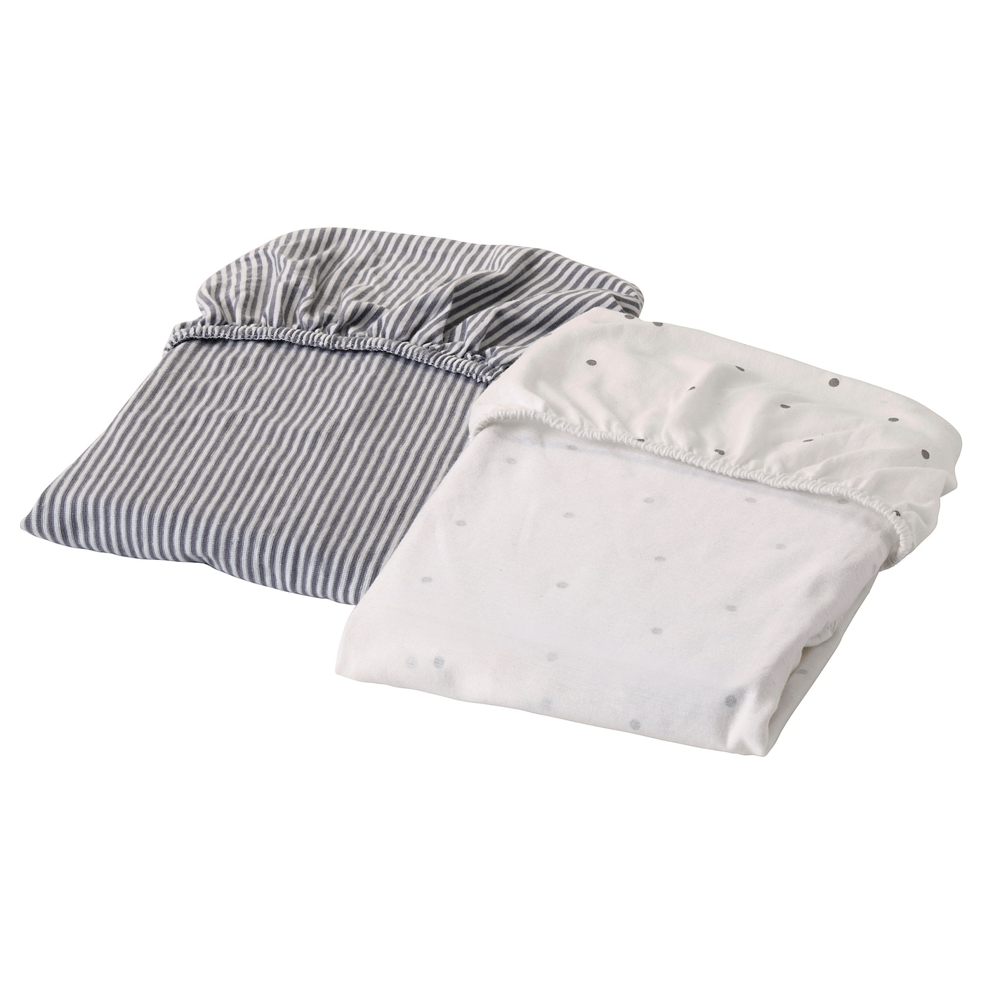 IKEA SOLGUL fitted sheet for cradle