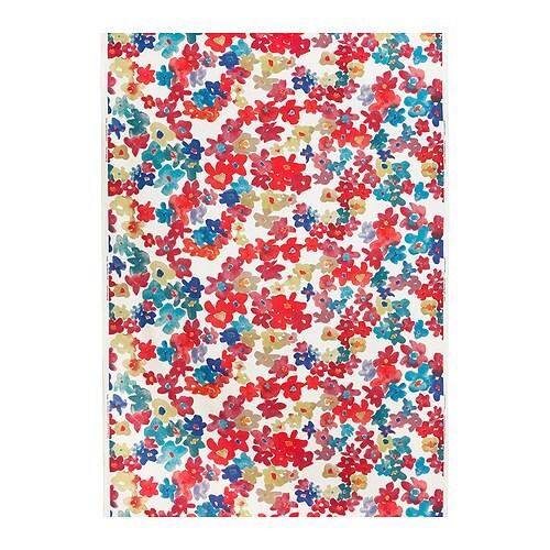 SOLRUN Fabric, multicolour Width: 150 cm Pattern repeat: 92 cm