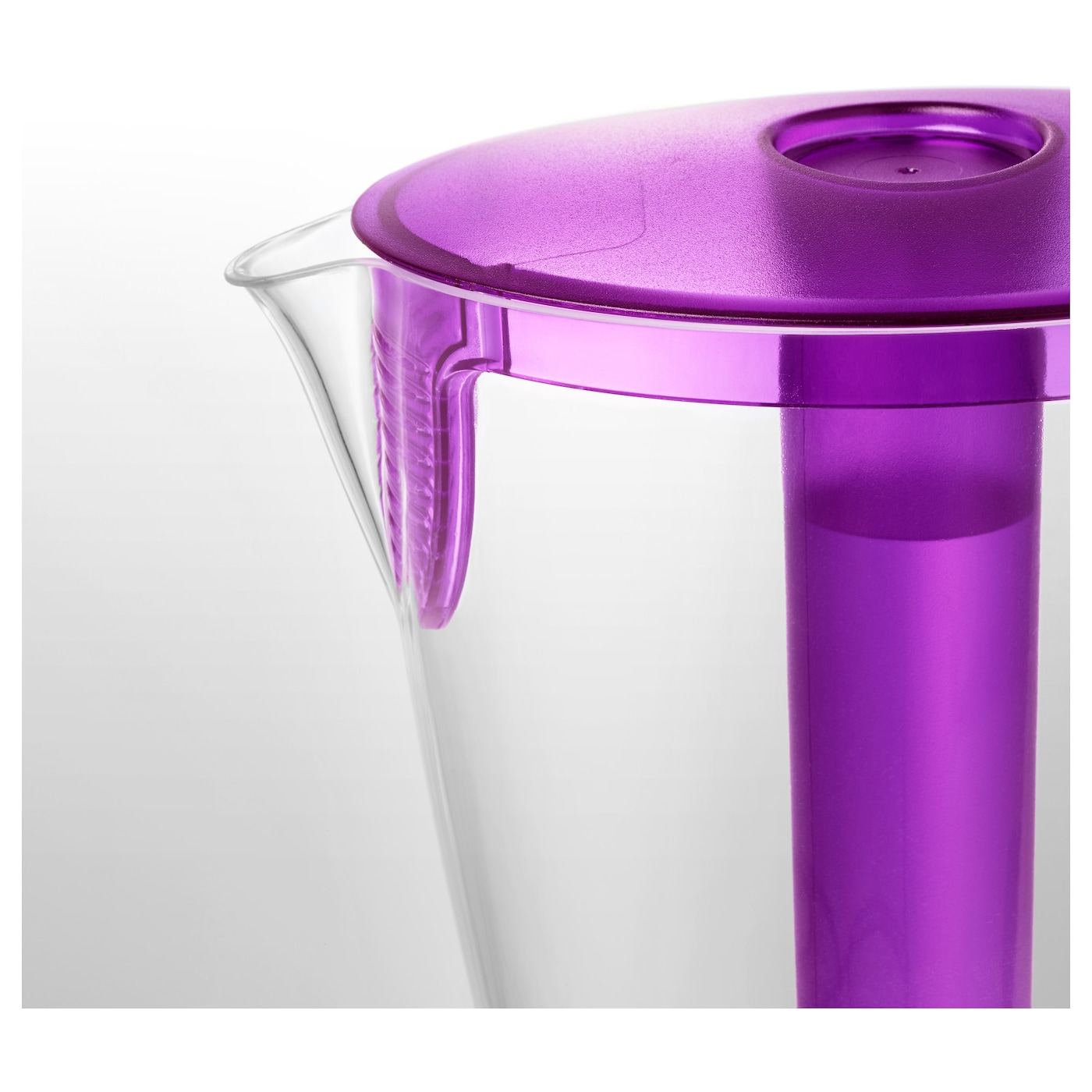 IKEA SOMMAR 2017 jug with lid The insert can be removed and frozen. Keeps the drink cold longer.