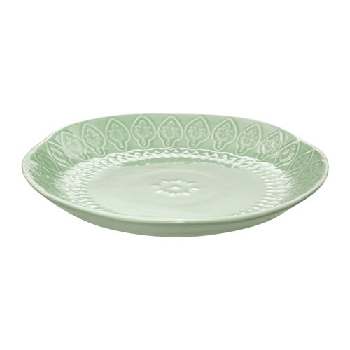 IKEA SOMMAR 2017 side plate Variations in the glaze give life and character to each side plate.