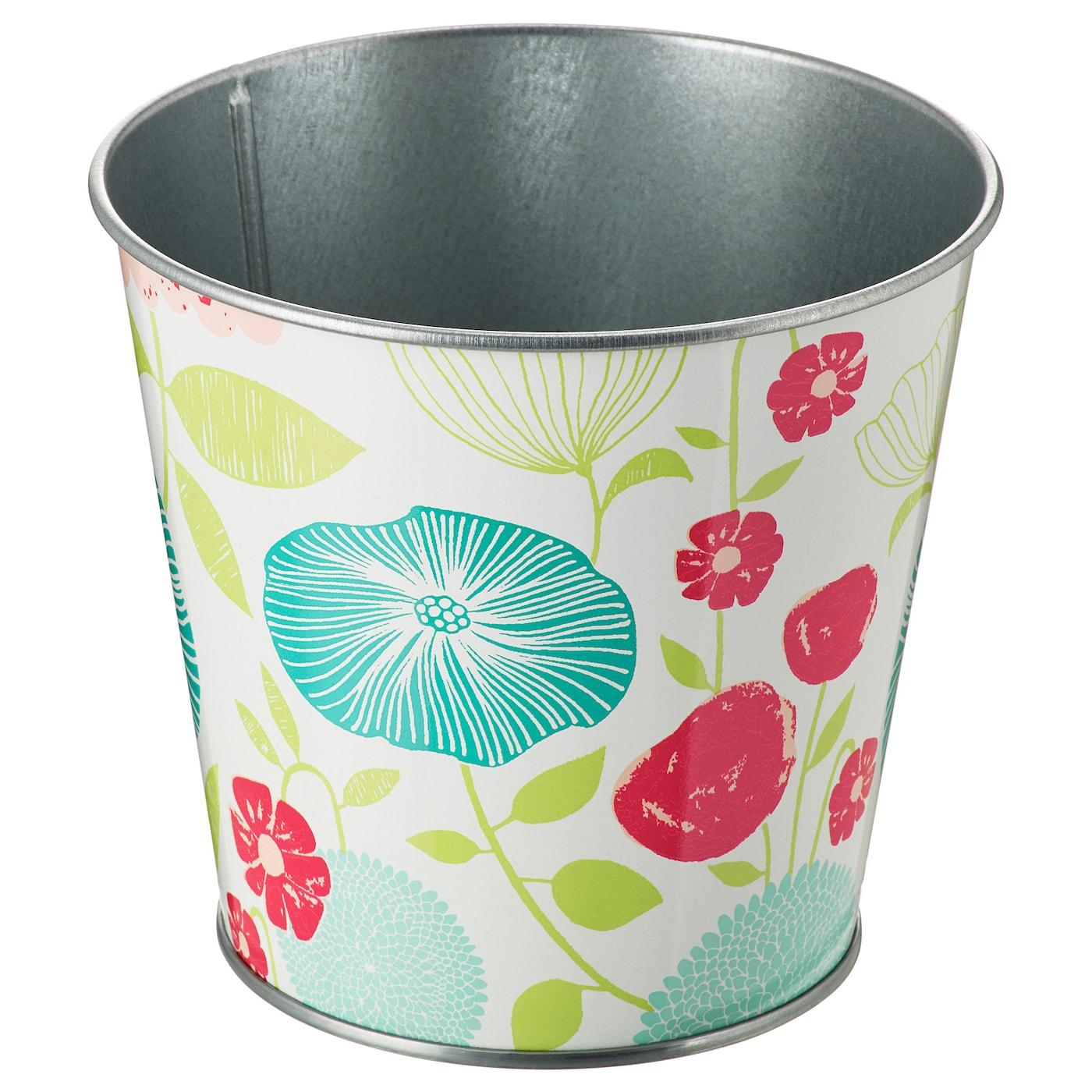 sommar 2018 plant pot patterned 12 cm ikea. Black Bedroom Furniture Sets. Home Design Ideas