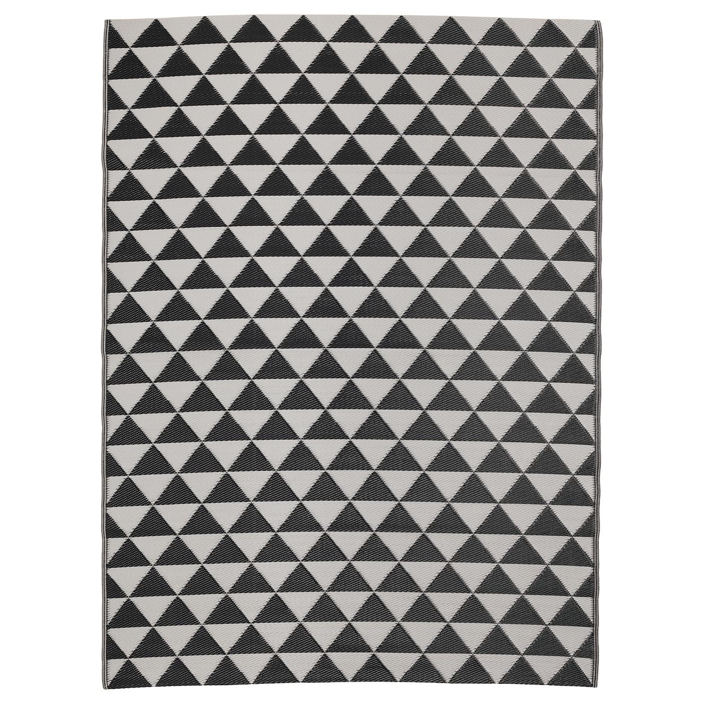 Ikea Waterproof Rug: SOMMAR 2018 Rug Flatwoven, In/outdoor Black/grey 180x240