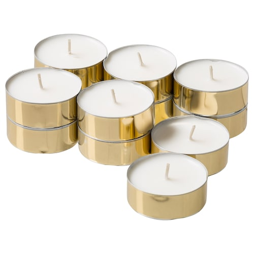 IKEA SPRETIG Scented candle in metal cup