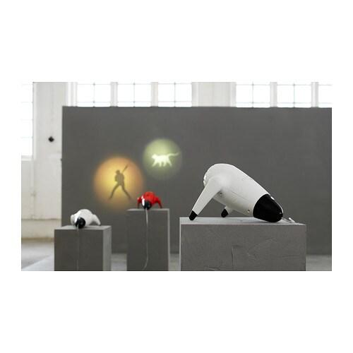 sprida led spotlight white black ikea. Black Bedroom Furniture Sets. Home Design Ideas