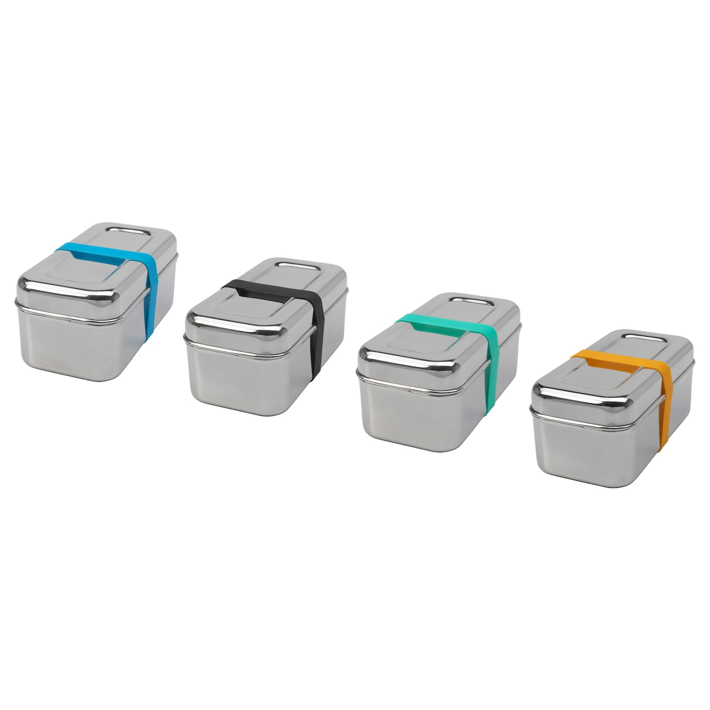IKEA SPRIDD box with lid, set of 2 Suitable for storing dry foodstuffs.