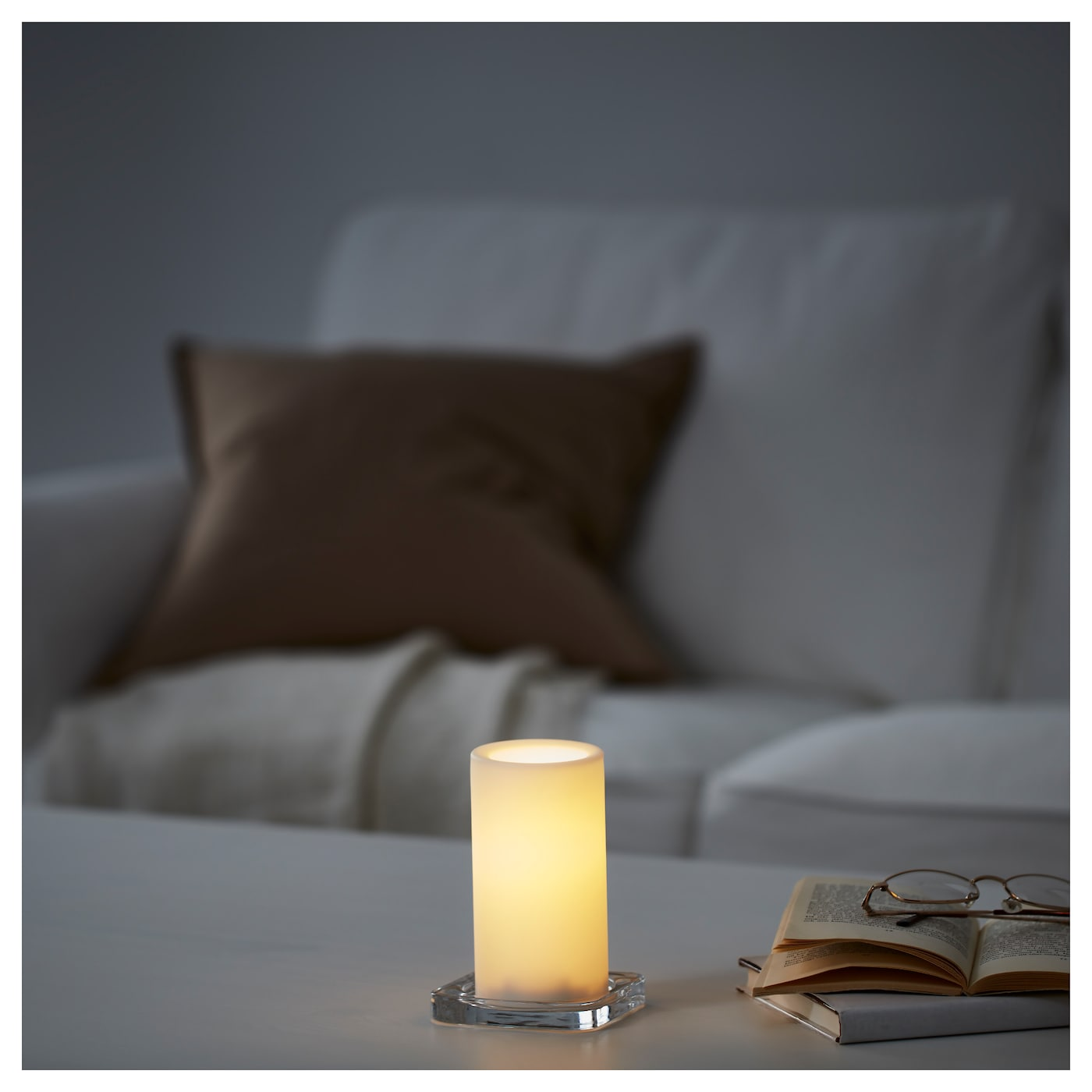 IKEA STÖPEN LED block candle