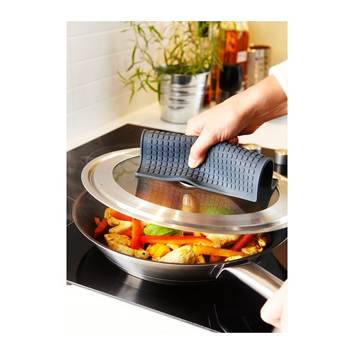 IKEA STABIL lid Fits most frying pans 32 cm in diameter.