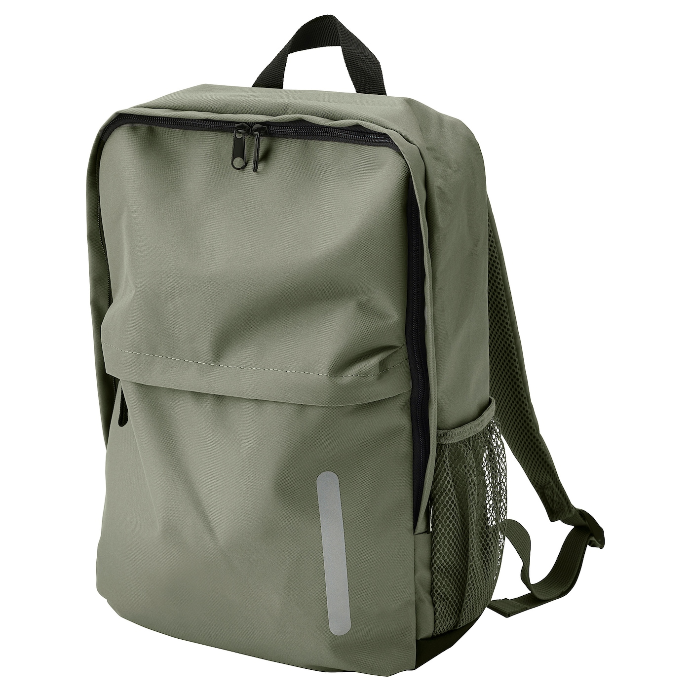 IKEA STARTTID backpack 2 side compartments perfect for bottles or umbrellas.