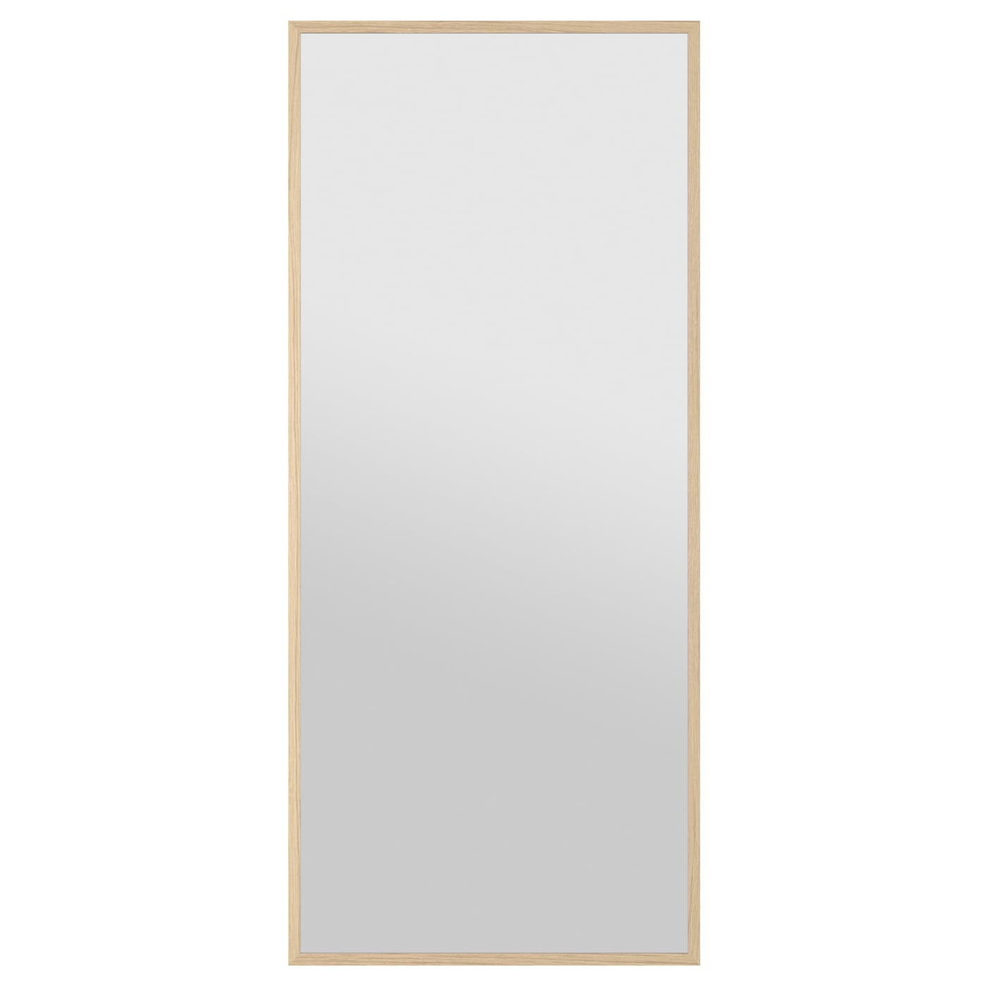 stave mirror white stained oak effect 70x160 cm ikea. Black Bedroom Furniture Sets. Home Design Ideas