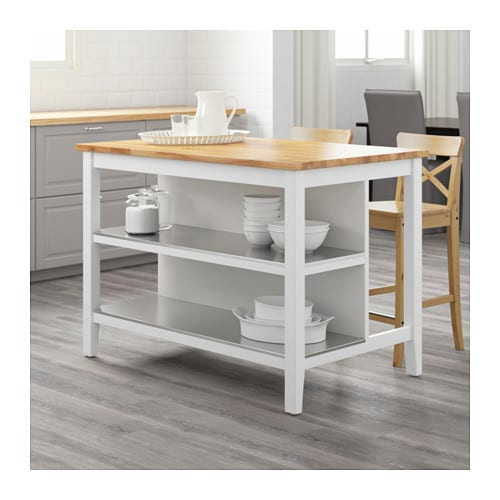 ikea kitchen islands stenstorp kitchen island white oak 126x79 cm ikea 200