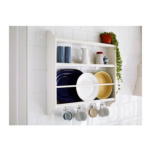 Stenstorp plate shelf white 80x76 cm ikea for Ikea plate storage
