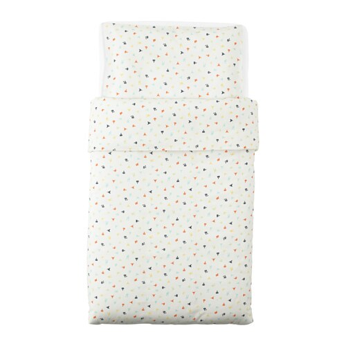 IKEA STJÄRNBILD quilt cover/pillowcase for cot
