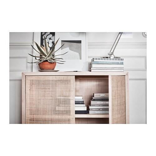 stockholm 2017 cabinet rattan ash ikea. Black Bedroom Furniture Sets. Home Design Ideas
