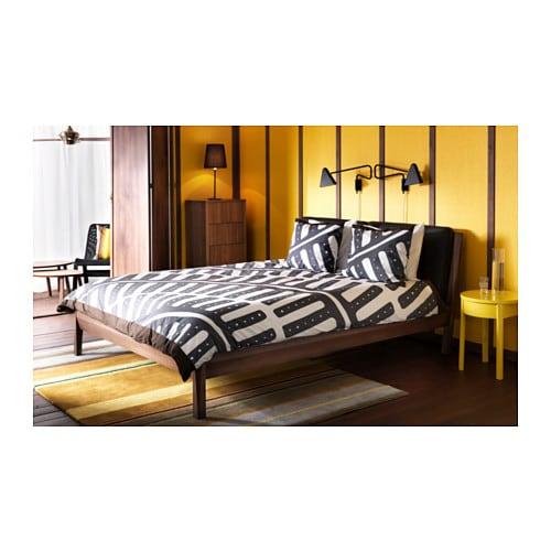 stockholm bedside table yellow 42x42 cm ikea. Black Bedroom Furniture Sets. Home Design Ideas